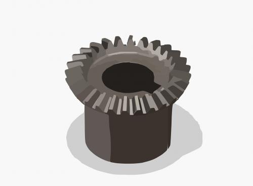 gear cogwheel bevel