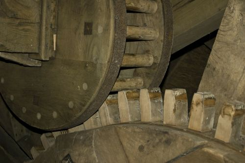 gear wooden gear mill
