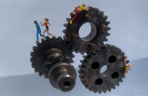 gear  athletes  miniature figures