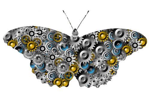 gear butterfly gears butterfly