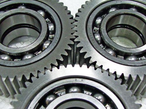 gears circle metal