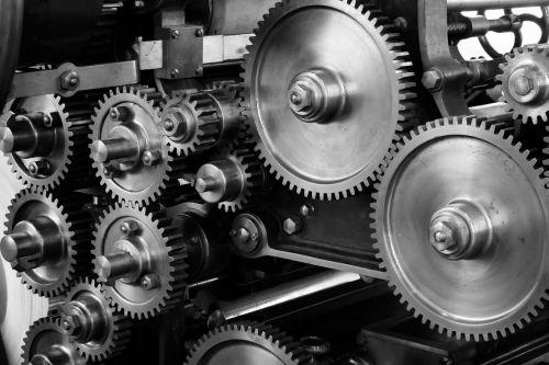 gears cogs machine