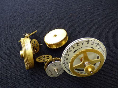 gears bronze mechanical