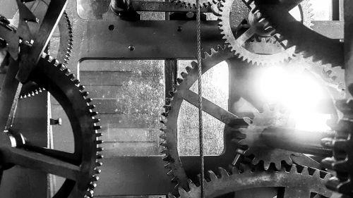 gears clock movement
