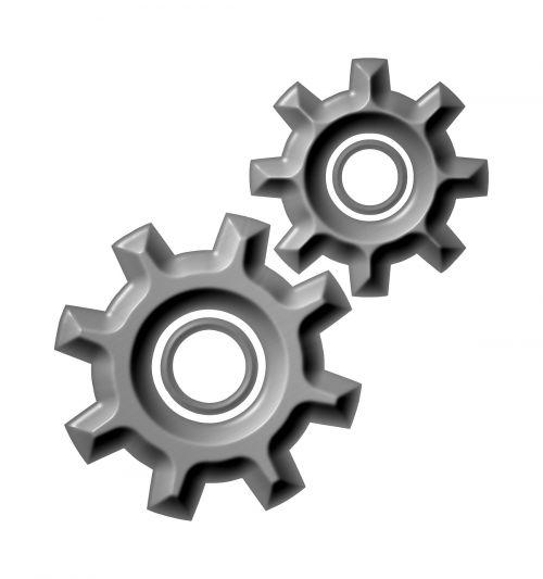 gears process cogwheel