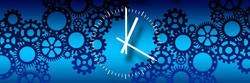 gears clock process