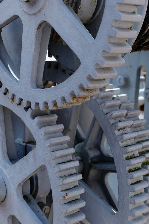 gears transmission industrial heritage