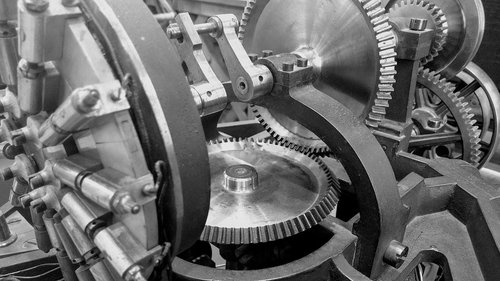gears  machines  industry