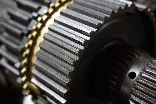 gears  brass  gold