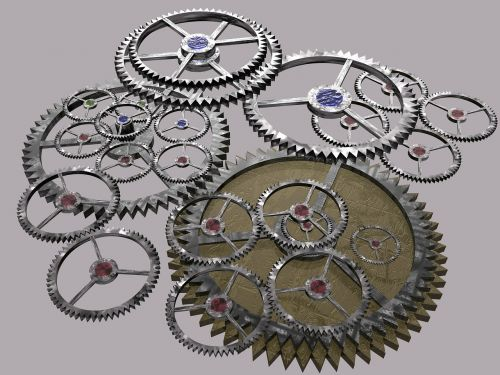 gears cogs machine