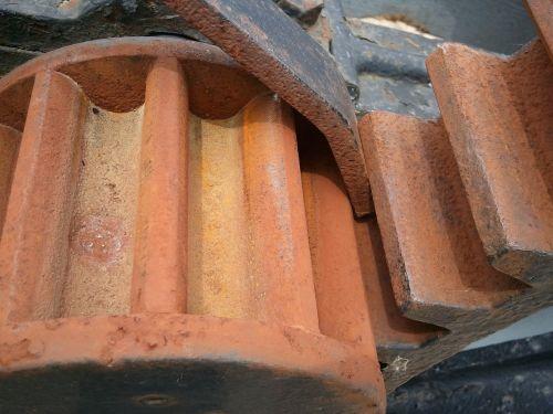 gears rust locks