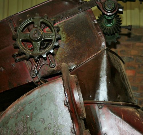 Gears And Wheels On Old Implements
