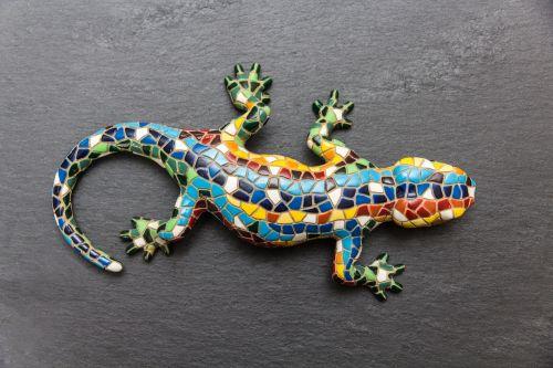 gecko mosaic lizard