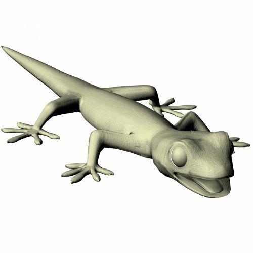 Gecko Resting