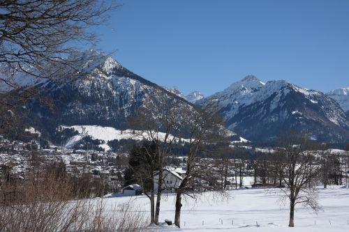 geis foot shadow mountain oberstdorf