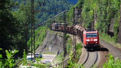 geislingen-climb freight train fils valley railway