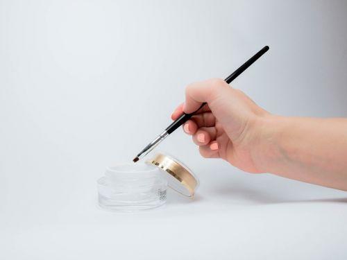 gel manicure brush