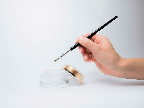gel manicure brush