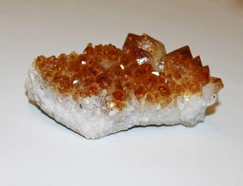 gem crystal citrine