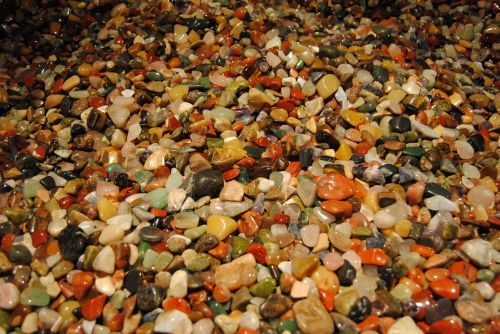gems many colorful