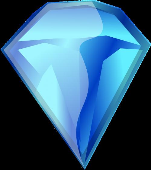 gemstone diamond blue