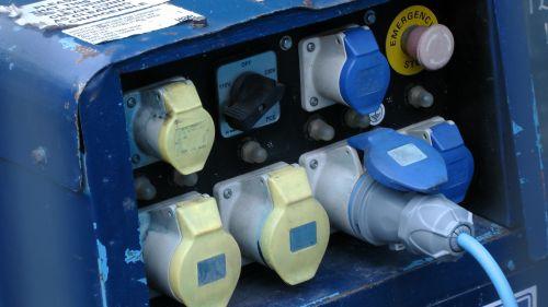 Generator Plug And Sockets