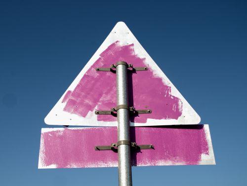 Generic Road Sign