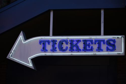 Generic Tickets Sign
