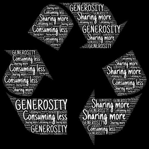 generosity consumption sharing