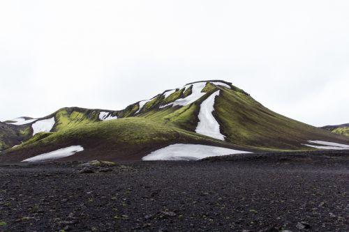 Iceland Volcano Landscape