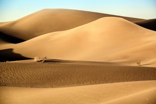 geography desert landscape