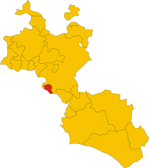 geography map italy