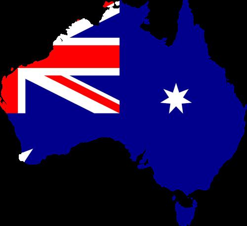 geography australia map