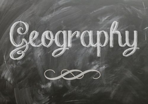 geography blackboard chalk