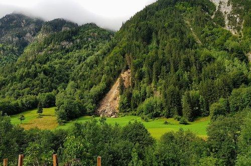 geology  slip  mountain