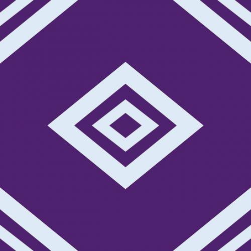 geometric violet pastel
