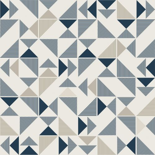 geometric triangle modern