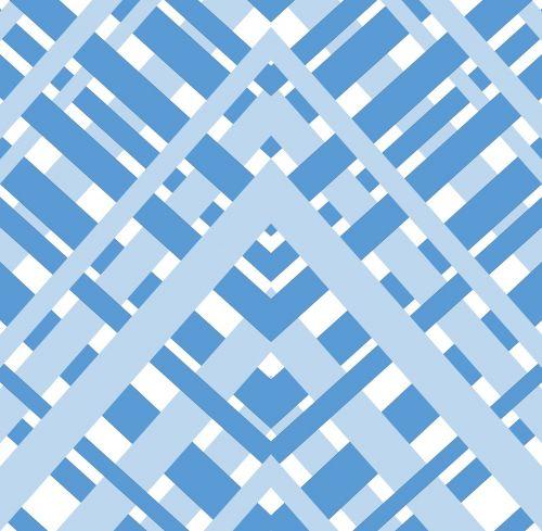 geometric gingham diagonal