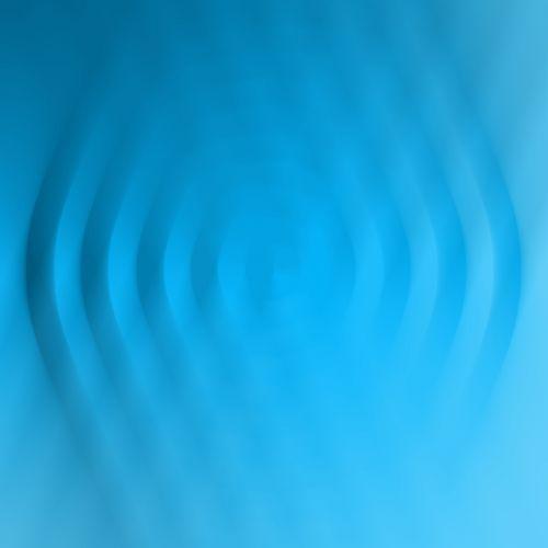 geometric blur turquoise digital art turquoise