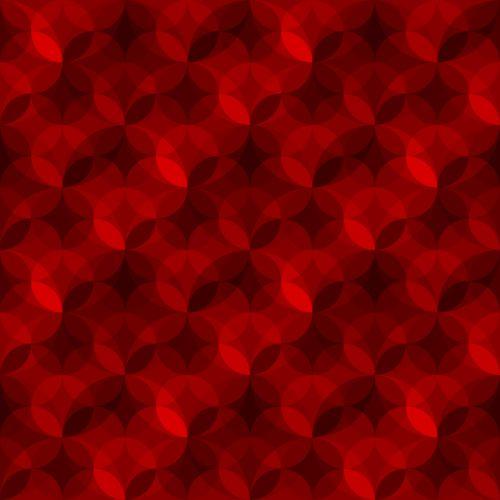 Geometric Pattern Red