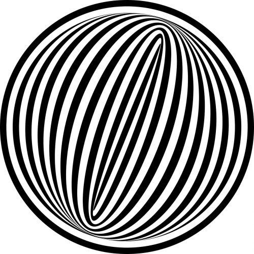 geometry black white