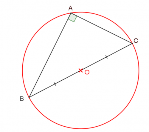 geometry triangle rectangle circle