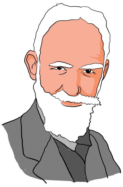 George Bernard Shaw Clipart