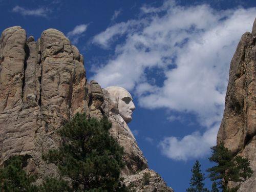 george washington mount rushmore national monument