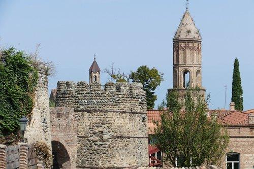 georgia  sighnaghi  historic center