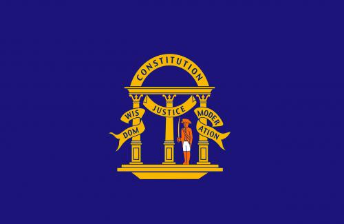 georgia flag non-official