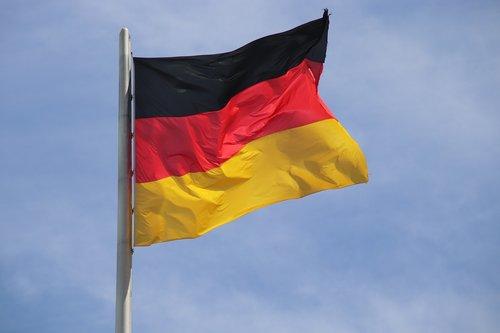 german flag  flag  national flag
