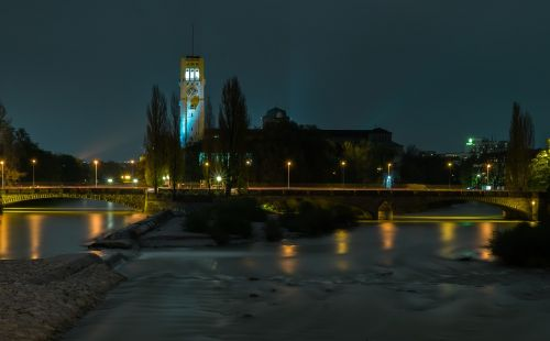 german museum night bridge