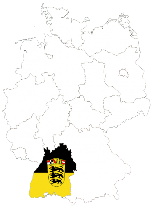 germany germany map regions