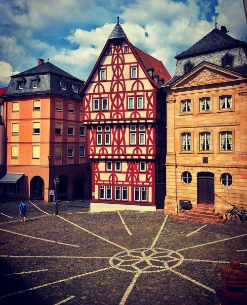 germany aschaffenburg city